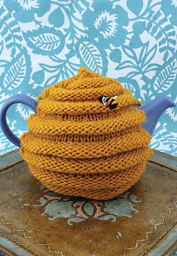 Ravelry Beehive Tea Cozy Pattern By Patons