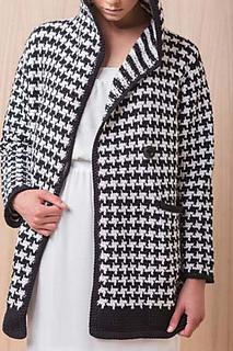 Ravelry houndstooth coat pattern by moon eldridge interweave crochet harper point photography dt1010fo