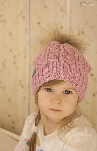 Ravelry Bella Cable Hat Pattern By Muki Crafts