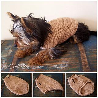 Ravelry Cute Dog Sweater Pattern By Kristina Kavaliauskiene