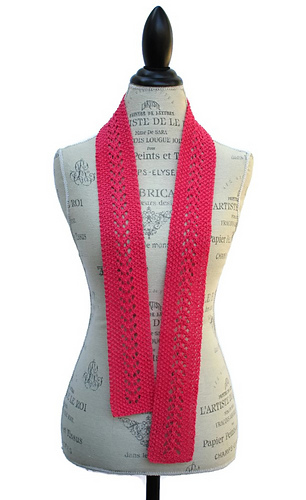 Ravelry Patons Grace Knit Lace Fashion Scarf Pattern By Nikki Weiss