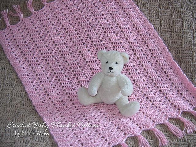 Ravelry Simply Soft Crochet Car Seat Baby Blanket Pattern By Nikki