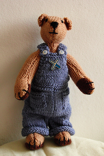 Ravelry The Knitted Teddy Bear Patterns
