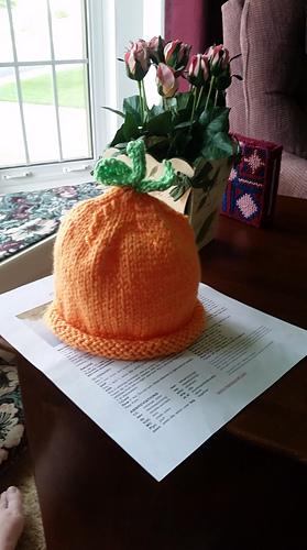 Ravelry Elsie S Pumpkin Hat 904 Pattern By Maddy Cranley