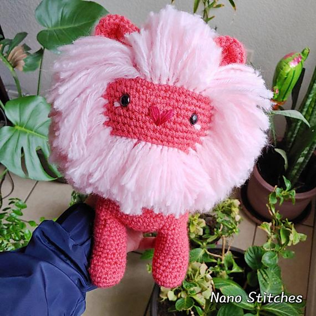Ravelry Lion From Steven Universe Pattern By Diana Picon