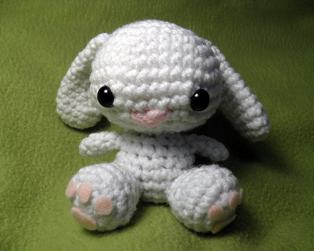 Little Amigurumi Patterns Free : Ravelry little bunny amigurumi pattern by katherine dubsky