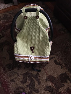 & Ravelry: Basic Car Seat Tent pattern by Maria Vazquez