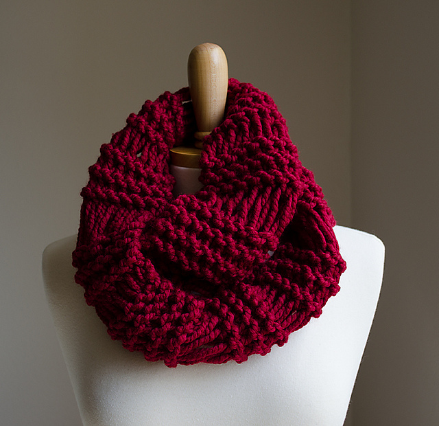 Ravelry Infinity Scarf Drop Stitch Pattern By Natalya1905