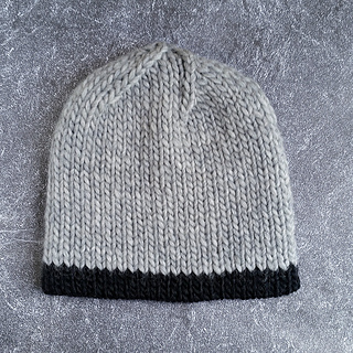 Knitting Patterns For Double Chunky Wool : Ravelry: HORIZON - Chunky Knit Double Hat pattern by Natalya1905