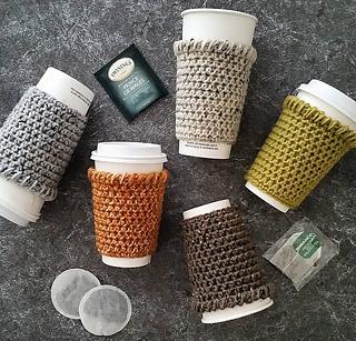 Ravelry Coffee Sleeve Coffee Cozy Pattern By Natalya1905