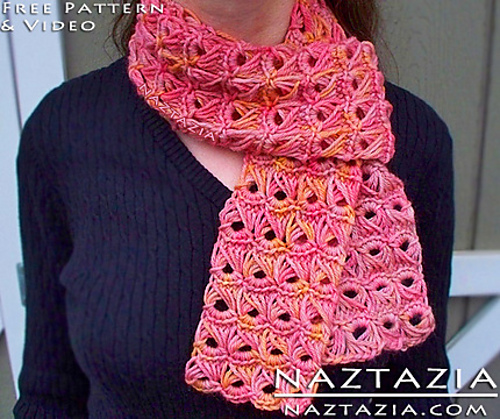 Ravelry Broomstick Lace Scarf With Help Video Pattern By Naztazia