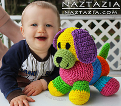 Crochet-colorful-puppy-dog-toy-for-baby_small