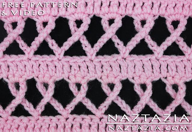 Ravelry Crochet Awareness Ribbon Stitch Blanket Pink For Breast Gorgeous Ribbon Pattern