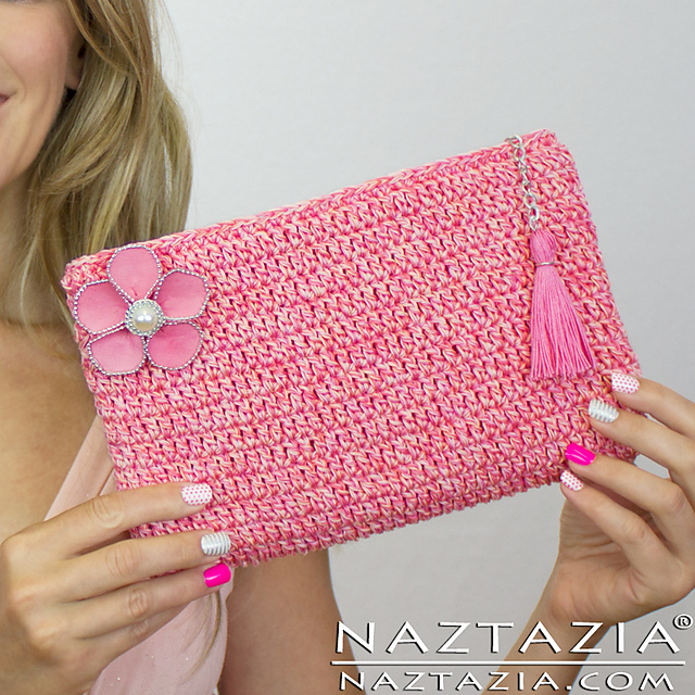 Ravelry Easy Clutch Purse Pattern By Naztazia