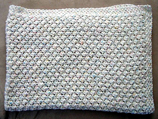 Knit Shell Stitch Baby Blanket : Ravelry: Easy Knit Shell Stitch Baby Blanket pattern by Frugal Knitting Haus