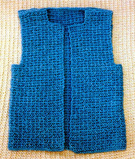 c8207060cd78a Ravelry  Quick Knit Vest pattern by Frugal Knitting Haus