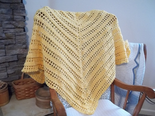 Crochet Triangle Shawl Pattern By Drew Emborsky Ravelry