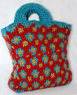 Ravelry Doodlebug Bag Pattern By Authentic Knitting Board