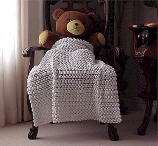 Ravelry Knit Bubble Wrap Baby Blanket Pattern By Nancy Hearne