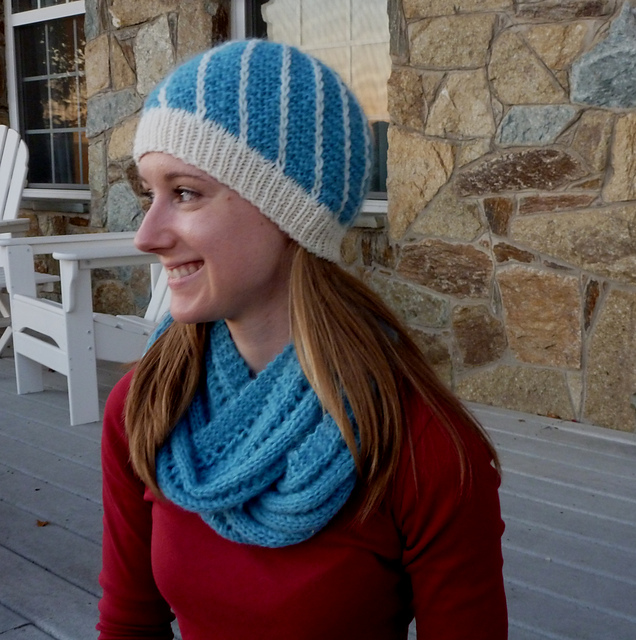 Ravelry: Lighter than Air Head-Hugger Hat pattern by robin nickerson