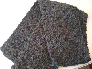Ravelry Boyfriend Basket Weave Scarf Pattern By Nancy Queen And