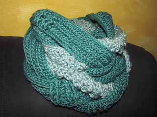 Ravelry Hooked Holla Infinity Scarf Pattern By Nina Leon