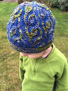 0645063eae2 Ravelry  Vakker Brioche Hat pattern by Nona Davenport