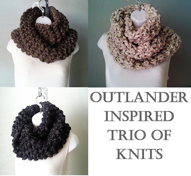Ravelry: Outlander Inspired Trio of Cowl Snoods pattern by Karen ...