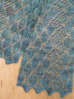 Madrona Lace Scarf Pattern By Evelyn A Clark Ravelry