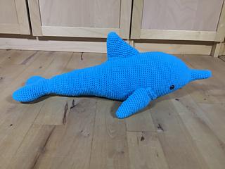 hæklet delfin