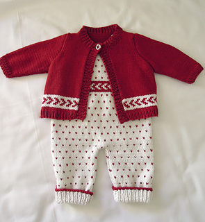 dfbc59e12e5c Ravelry  Baby All-in-one Bib Overalls with matching sweater P026 ...