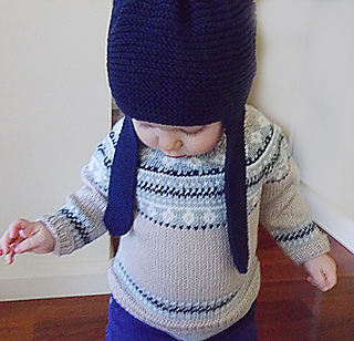 Ravelry: Baby Fair Isle Sweater and Hat P054 pattern by OGE ...