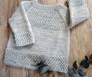 5f723125a Ravelry  Silver Gum top down sweater - P137 pattern by OGE Knitwear ...