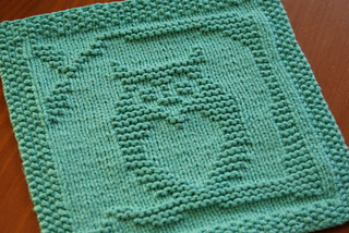 Ravelry: Owl Always Love You Dishcloth pattern by Kelly ...