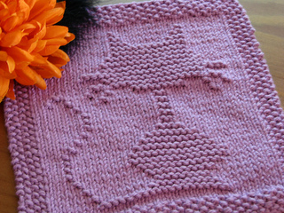 Ravelry Halloween Cat Dishcloth Pattern By Kelly Montag