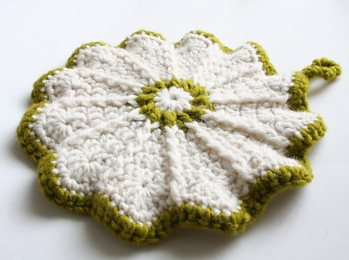 Ravelry Scalloped Potholder Pattern By Priscilla Hewitt