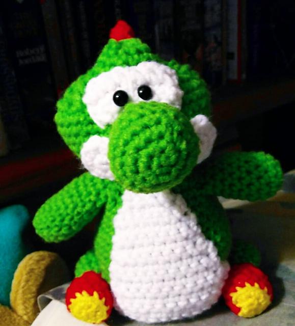 Ravelry Yoshi Pattern By French Fried Crochet