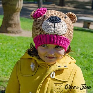 Ravelry Teddy Bear Hat Pattern By Carolina Guzman