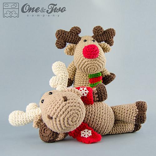 Ravelry: Reindeer / Moose Amigurumi pattern by Carolina Guzman