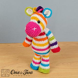 Ravelry: Rainbow Zebra Amigurumi pattern by Carolina Guzman