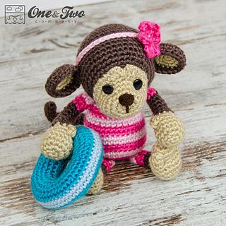Amigurumi Crochet Patterns Baby : Ravelry: Lily the Baby Monkey Amigurumi pattern by ...