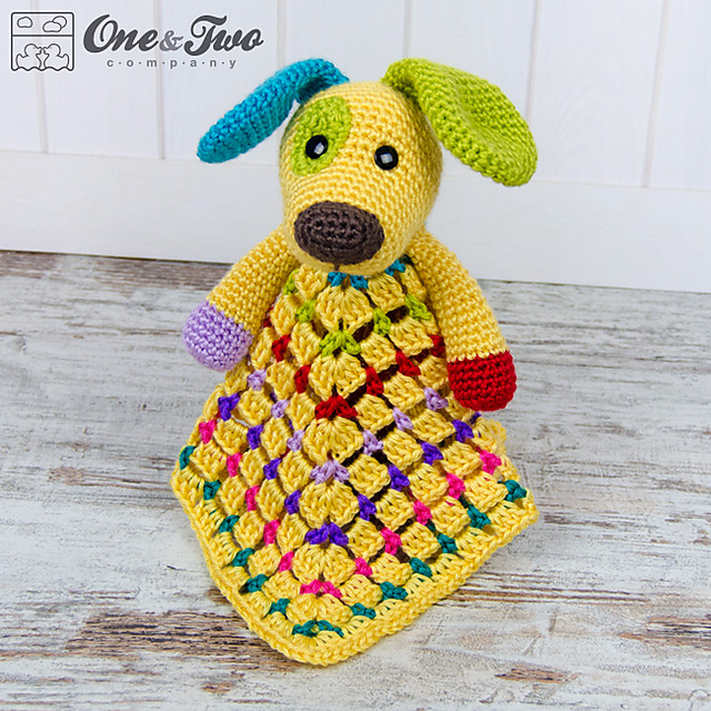 Ravelry Scrappy The Happy Puppy Lovey And Amigurumi Set Patterns