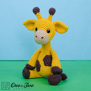 Amigurumi Hello Kitty Collection 1 : Ravelry: Geri the Giraffe Amigurumi pattern by Carolina Guzman