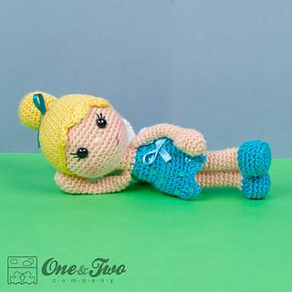 Amigurumi Crochet In The Round : Ravelry: Ella the Fairy Amigurumi pattern by Carolina Guzman