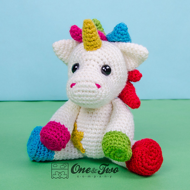 Ravelry Nuru The Unicorn Amigurumi Pattern By Carolina Guzman Delectable Unicorn Crochet Pattern