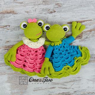 Ravelry Kelly The Frog Lovey Pattern By Carolina Guzman
