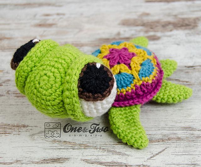 Ravelry Bob The Turtle Amigurumi Pattern By Carolina Guzman