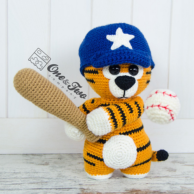 Ravelry Riley The Little Tiger Pattern By Carolina Guzman