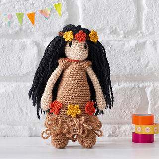 Ravelry: June Toft Doll pattern by TOFT
