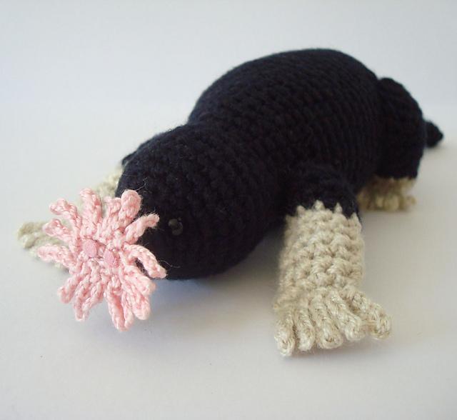 Ravelry Star Nosed Mole Amigurumi Crochet Pattern Pattern By Susan